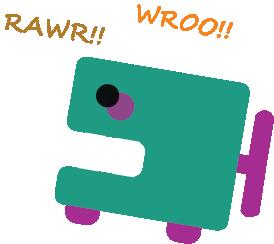 RAWR!! WROO!! by Hidebody