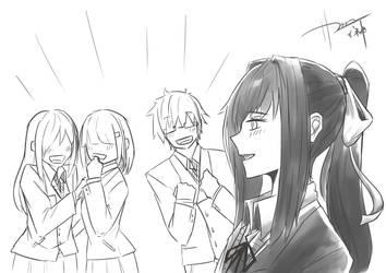 Monika... by ShibaInugami