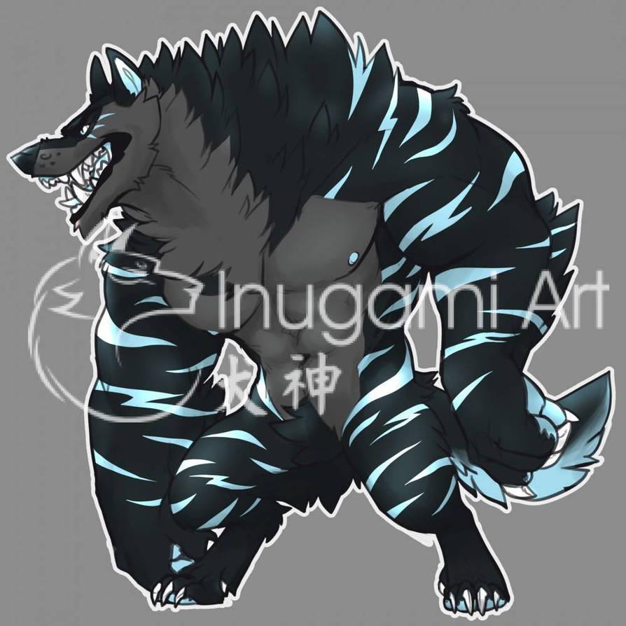 Werewolf Adopt 7 by ShibaInugami