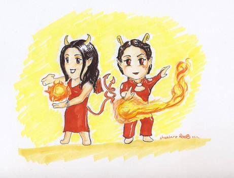 Chibi mania - devil ladies