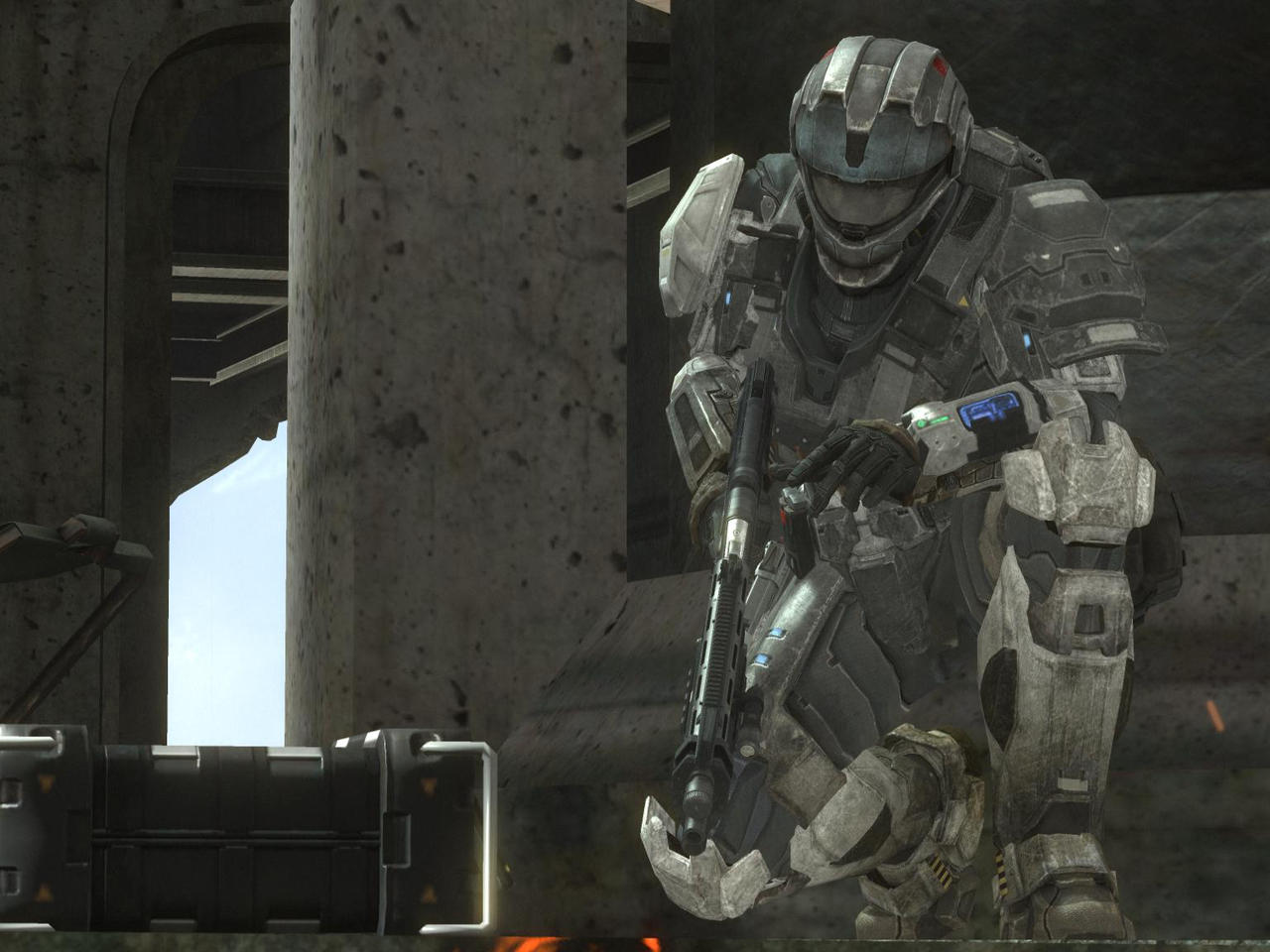Halo Reach: Lance alternative by purpledragon104
