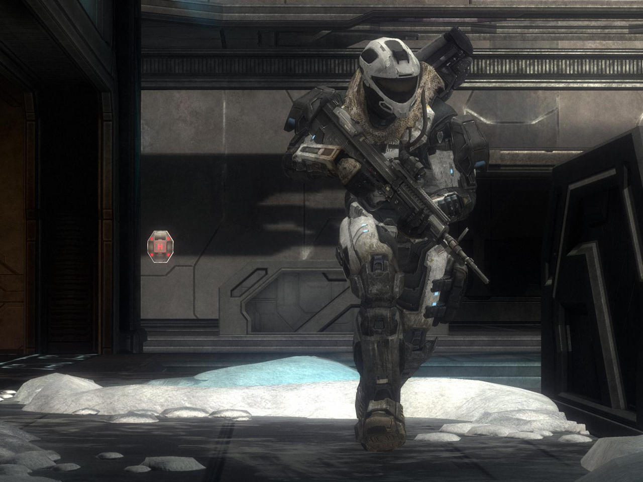Halo Reach: Ice And Armour by purpledragon104