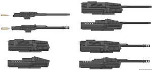 Weapons: JHHATC