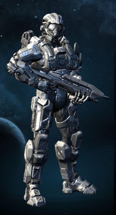 Halo 4 OC: Luke Dyke by purpledragon104