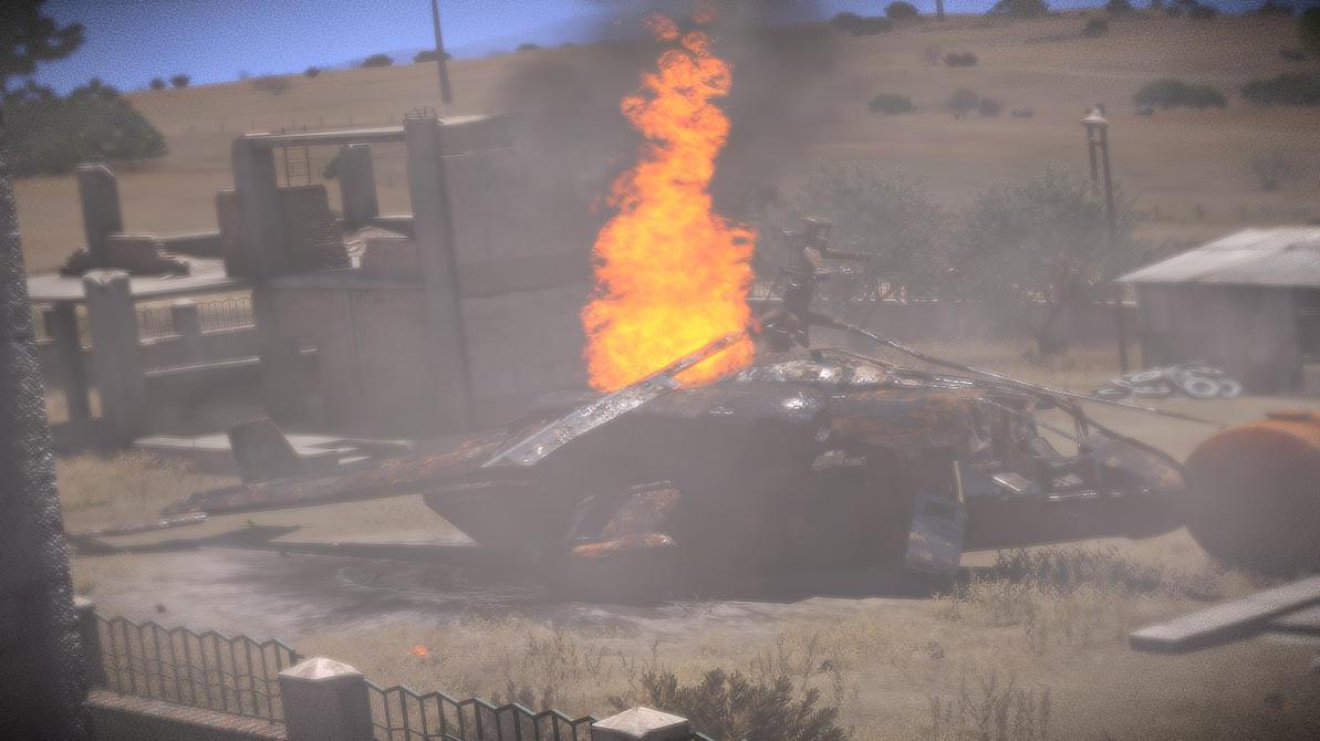 ARMA 3: Crashsite by purpledragon104