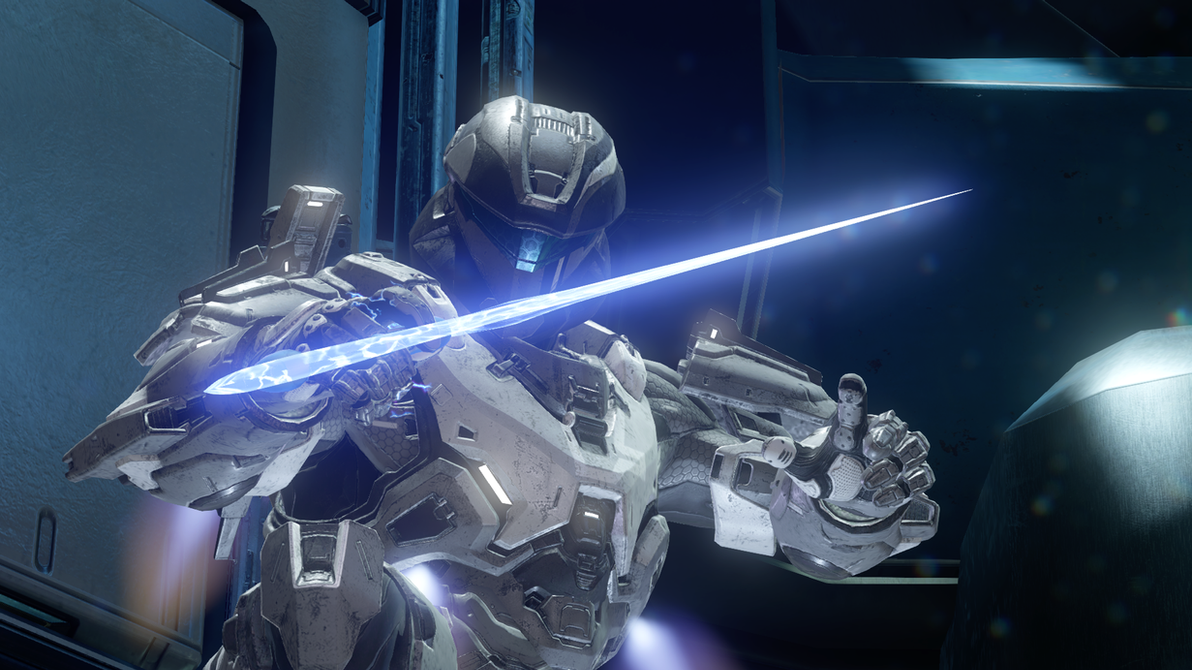 Halo 5: Way of the Sword by purpledragon104