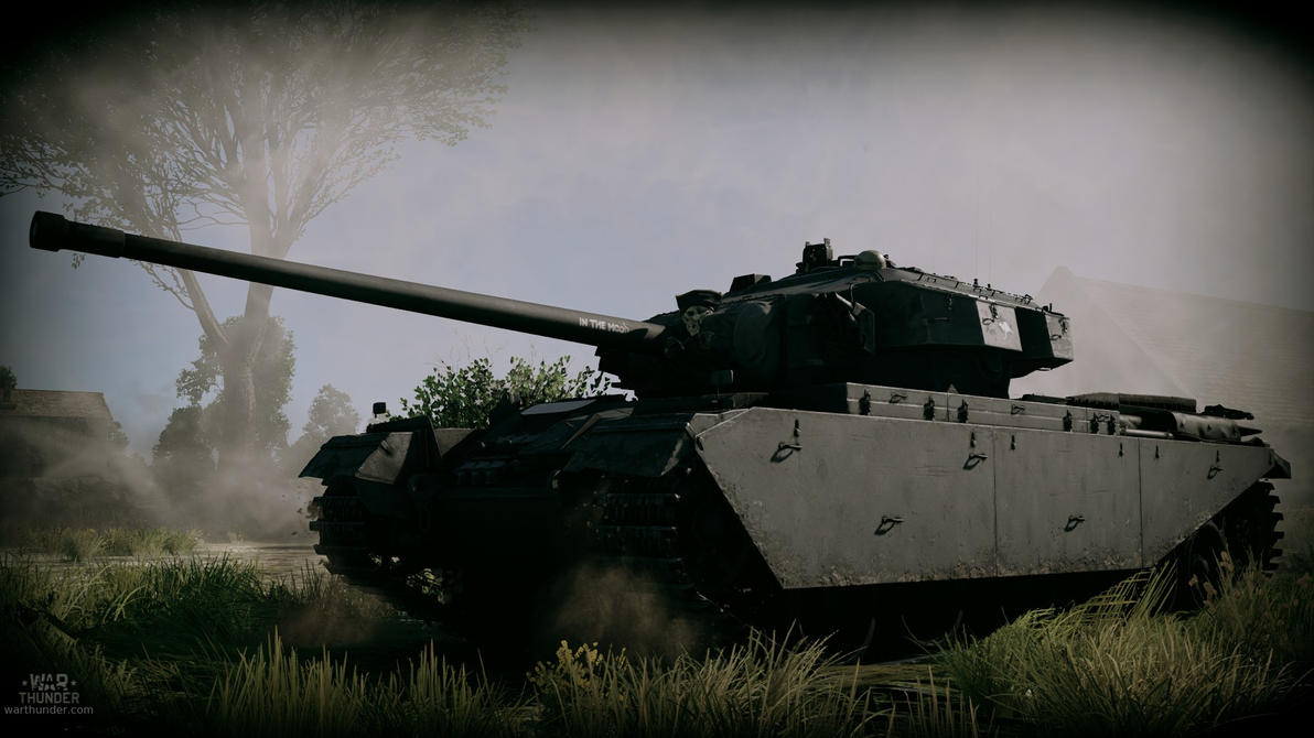 War Thunder: Centurion by purpledragon104