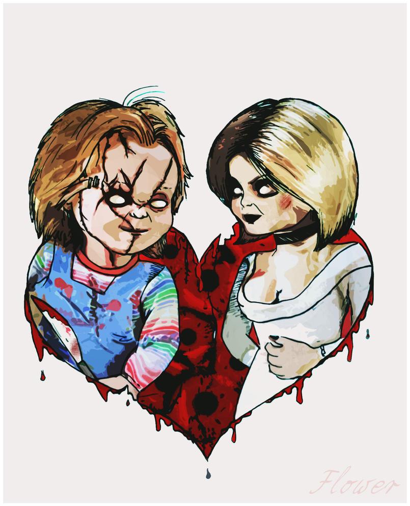 Chucky And Tiffany by SilviaFlower on DeviantArt