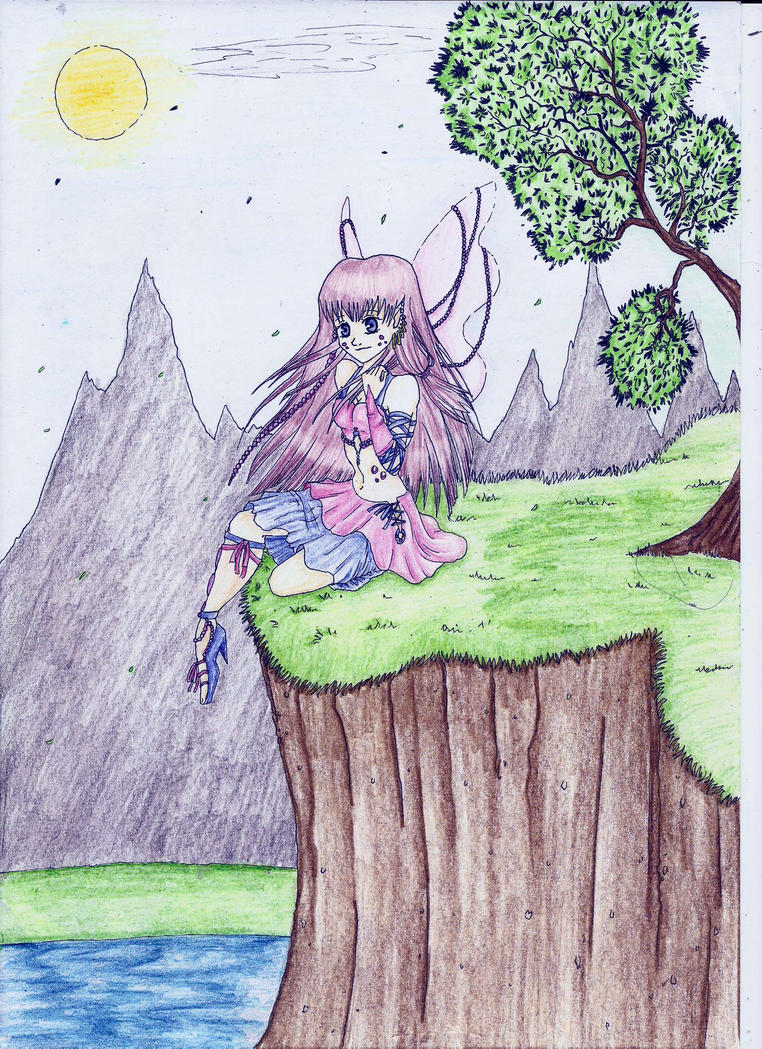Fairy girl by MidoriBara