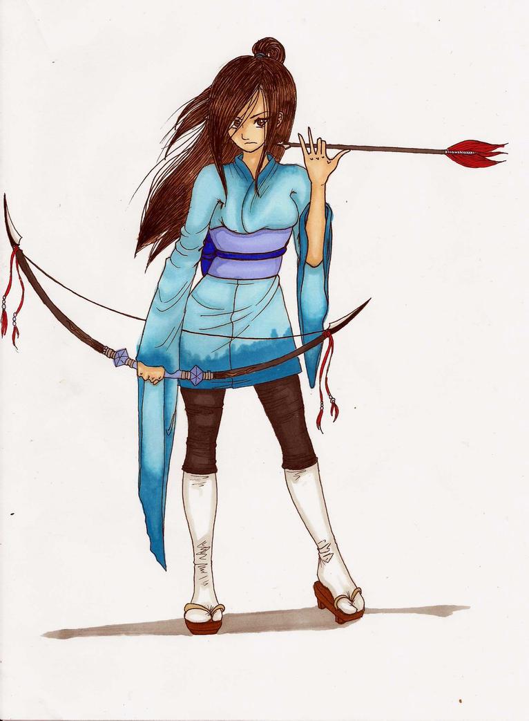 Takemitsu Ayako by MidoriBara