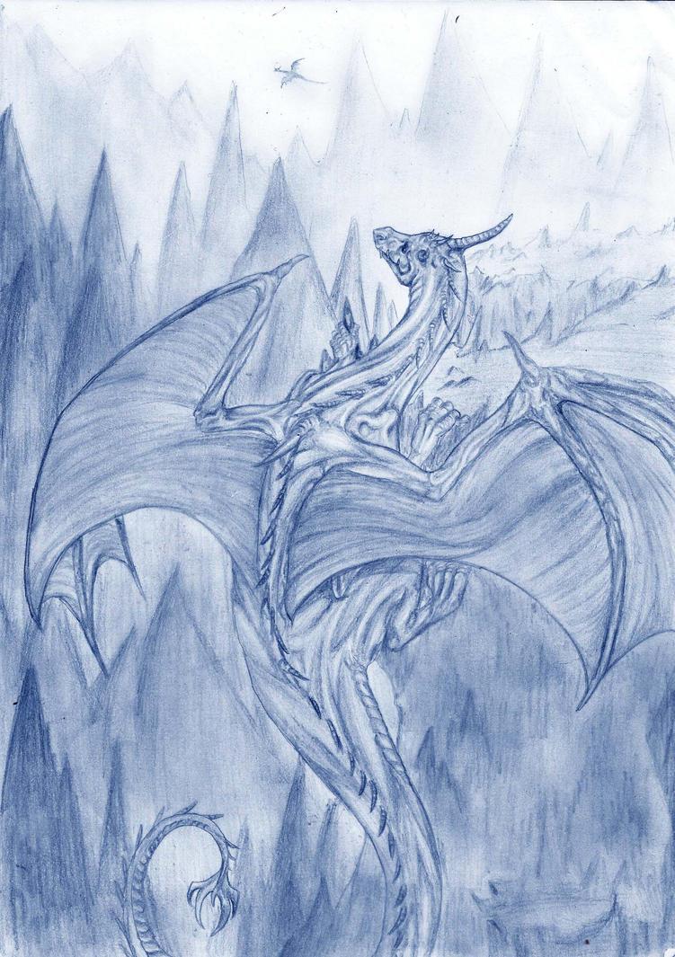 Climbing Dragon by MidoriBara