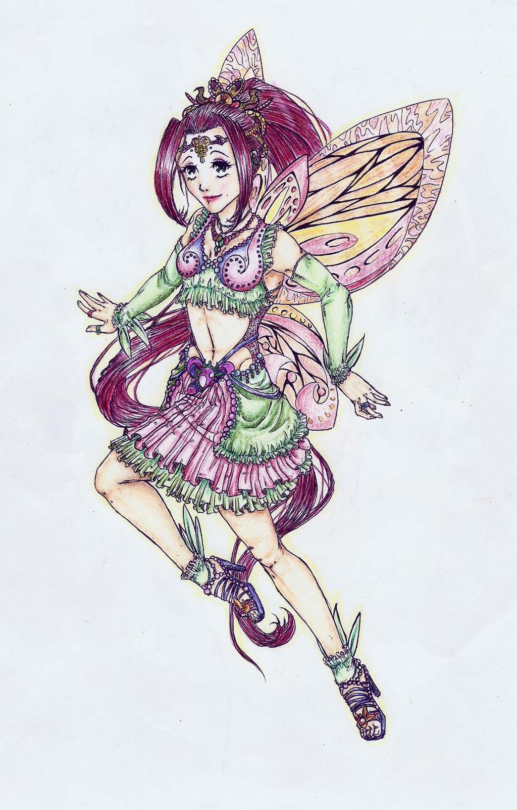 Magical girl by MidoriBara
