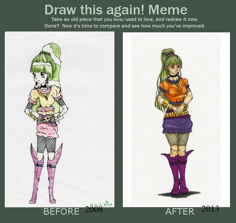 Draw This Again! by MidoriBara