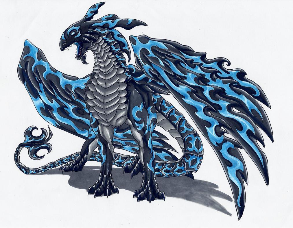 King of Dragons by MidoriBara