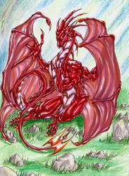 Lady Dragon by MidoriBara