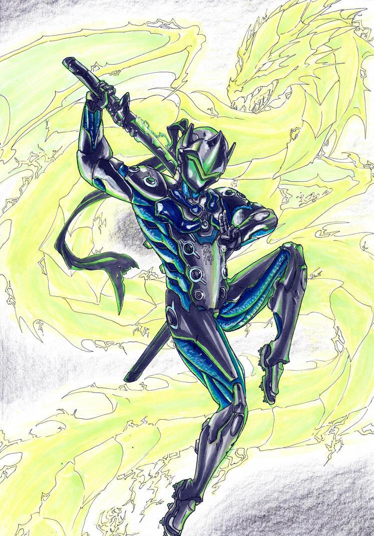 The Dragon becomes Me by MidoriBara