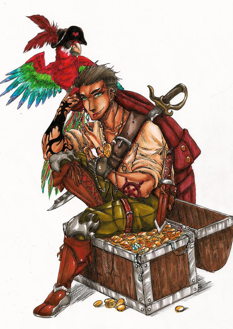 Pirate by MidoriBara