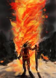 Firestorm by Feuillyien