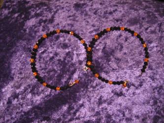 Halloween bracelets 01 by DelRosal