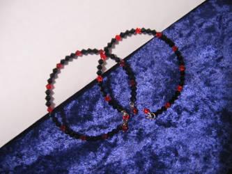 Halloween bracelets 02 by DelRosal