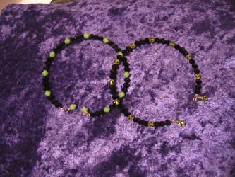 Halloween bracelets 03 by DelRosal