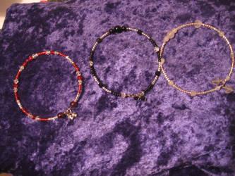 Memory wire Bracelets 01 by DelRosal