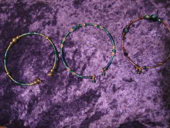 Memory wire Bracelets 02 by DelRosal