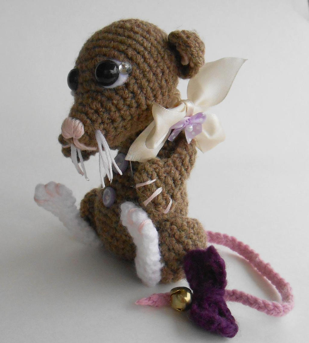 Rat Amigurumi by Tiny-Tea-Party by Pickleweasel360