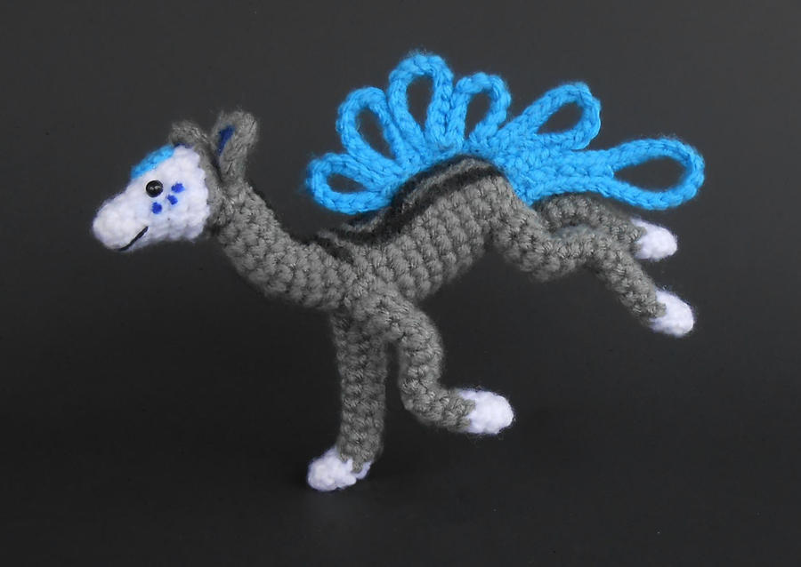 Current the Finnedyr - Crochet by Pickleweasel360
