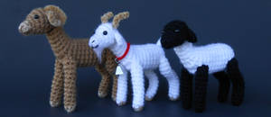 Ram, Goat, Sheep (Pattern Available)