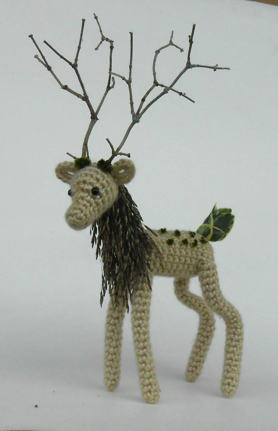 Forest Spirit (made with Recycled Materials) by Pickleweasel360