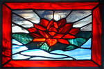 Water Lily Stained Glass