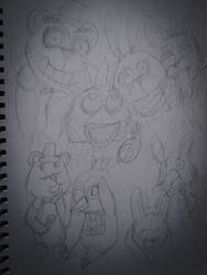 Five nights at Freddy's WIP