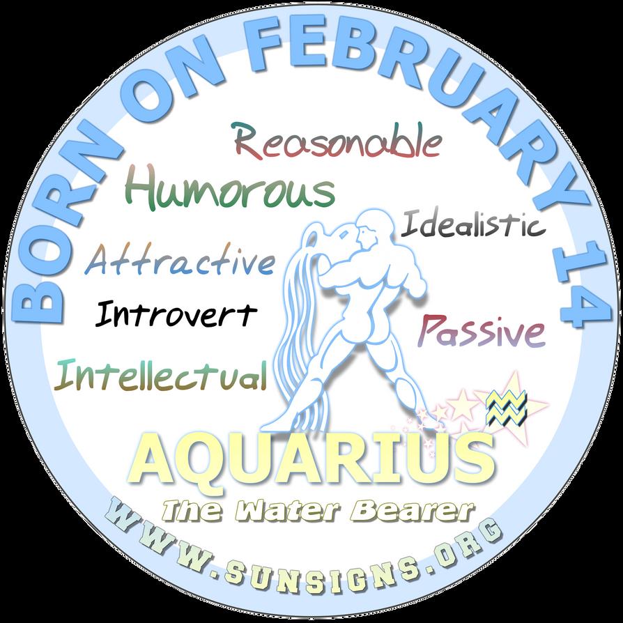 february 14 aquarius birthday personality by sunsignsonline on deviantart. Black Bedroom Furniture Sets. Home Design Ideas