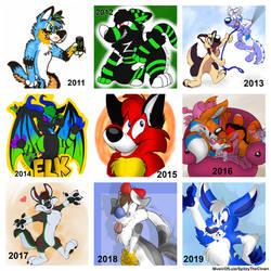 My Art Progress: 2011 - 2019