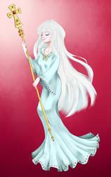 White Haired Girl