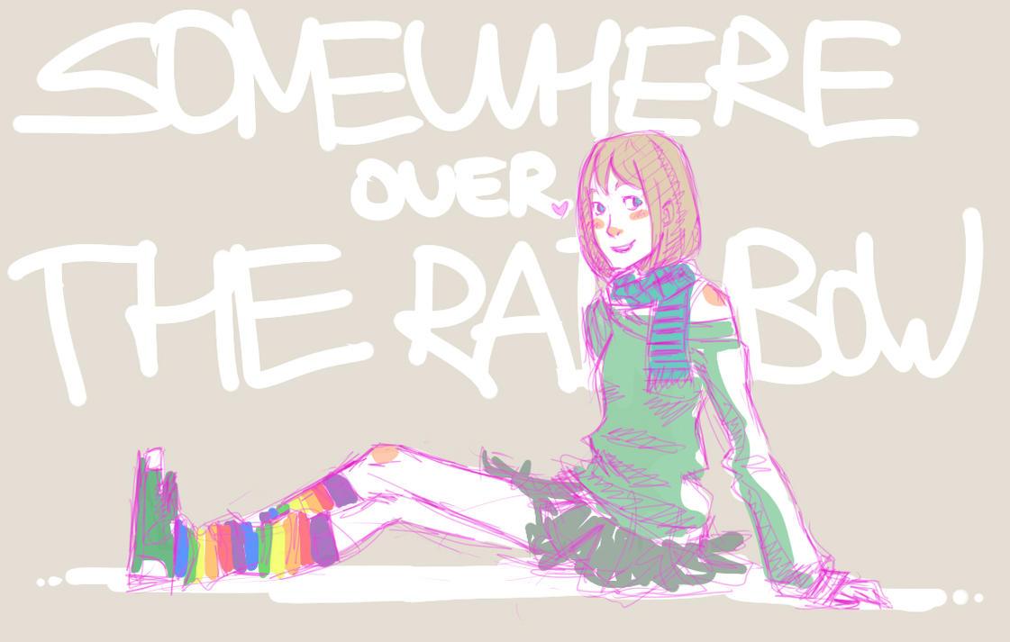 Random sketch by Aoki-Yukari