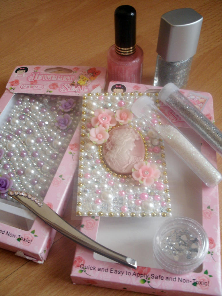 Pretty Nail Equipment by OkBear