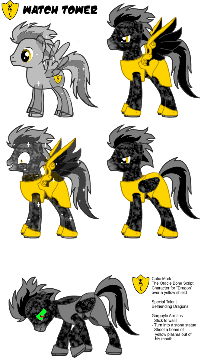 A Pony Creator Generated Pony OC by DragonTrainer13