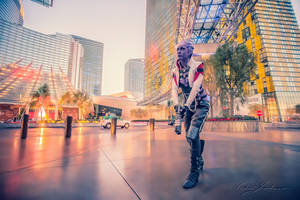 Aria T'loak - Mass Effect 3 cosplay by emmabellish