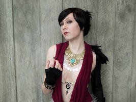 Morrigan - Dragon Age: Origins cosplay by emmabellish