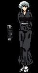 16bit Pixel Art Kotetsu Isane