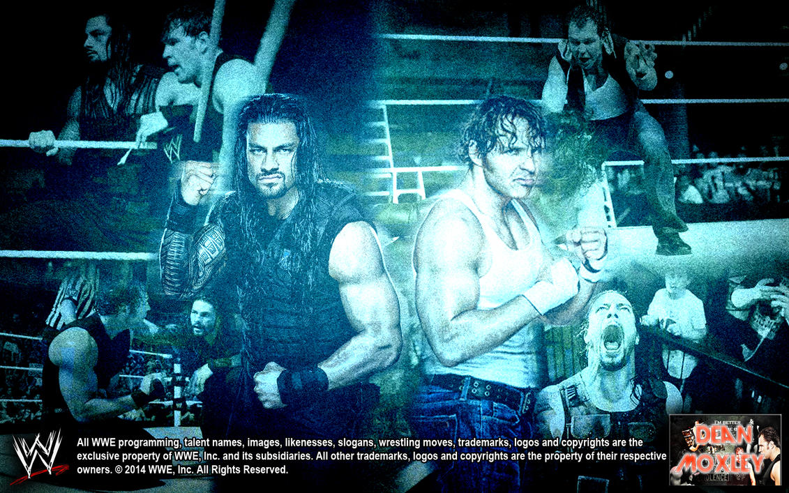 Beautiful Wallpaper Logo Dean Ambrose - roman_reigns_and_dean_ambrose_by_deanmoxley-d7p1l4s  2018_37133.jpg