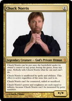 Chuck Norris by shinobigarth