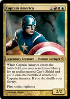 Captain America by shinobigarth