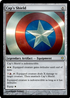 Cap's Shield by shinobigarth