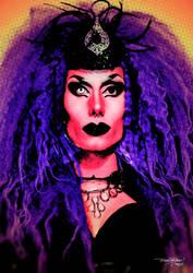 Psicodelico Queen Popart