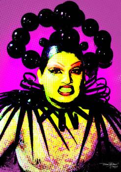 Drag Queen Popart 7