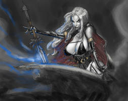 Lady Death Color Quickie by beonarri