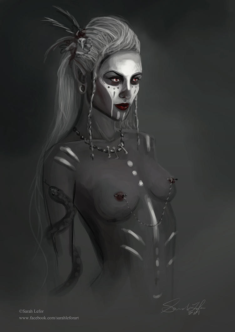 Voodoo Drow by SLefor